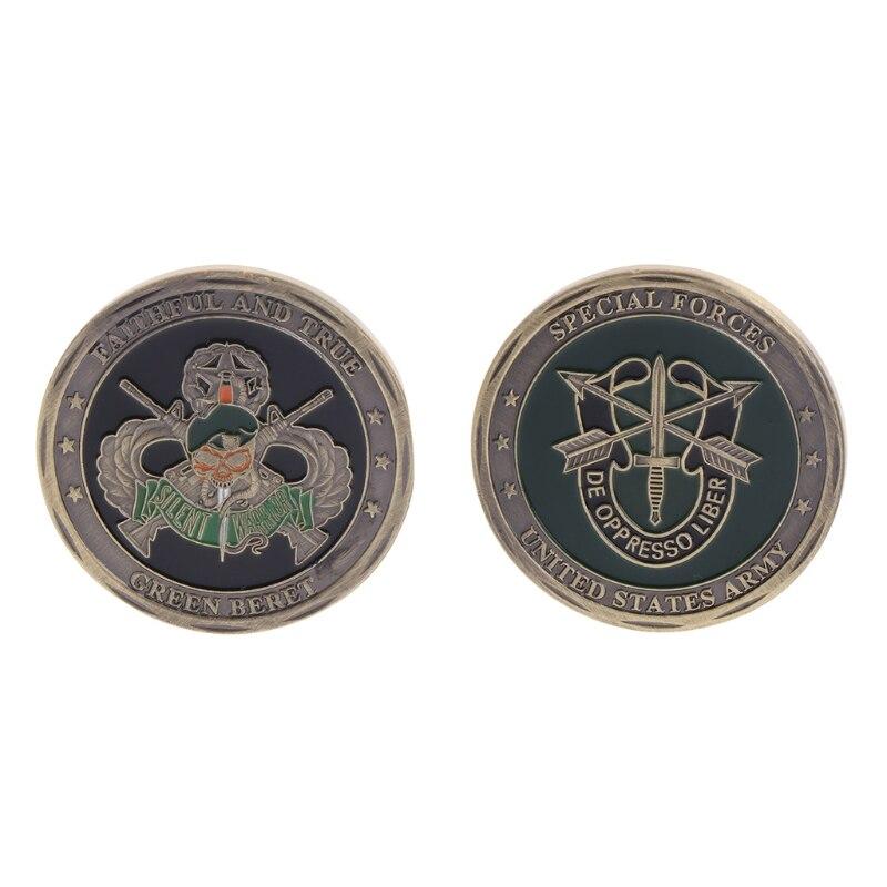 Goldene /& Silber Überzogene Abraham Lincoln, präsident der Vereinigten Staaten Gedenkmünzen Kunstsammlung Nicht währungs Münzen