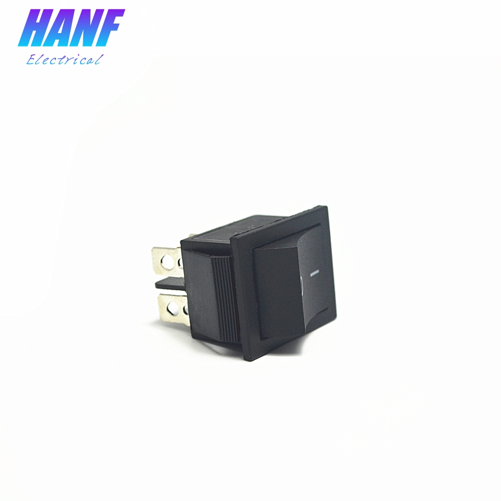 1pcs 25.5X31mm ON-OFF DPST Boat Rocker Switch 4pins 16A/250VAC 20A/125VAC Power Switch Running Machine Motorcycle