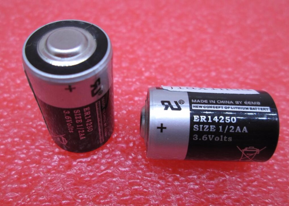 NEW ER14250 14250 1/2AA 3.6V lithium battery industs