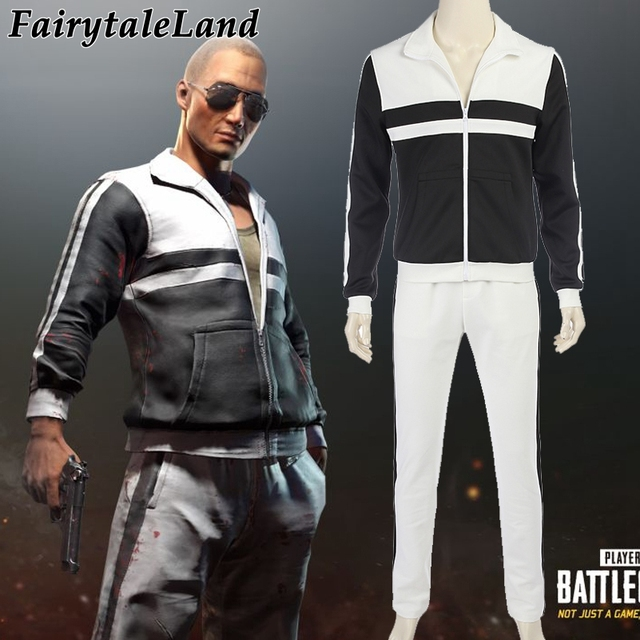 Hot Game Playerunknowns Battlegrounds Cosplay Costume Men Carnival Halloween Costumes Cosplay Pubg Skin Batter Suit