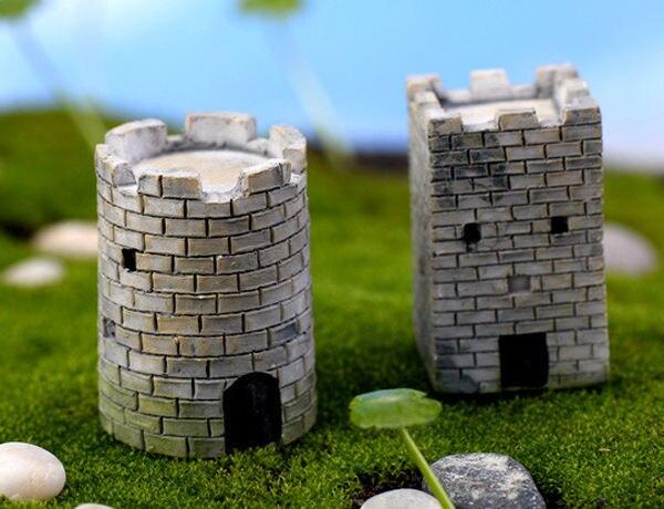 Stenen Muur Tuin : Stks de oude stad muur fairy tuin miniaturen resin craft grote