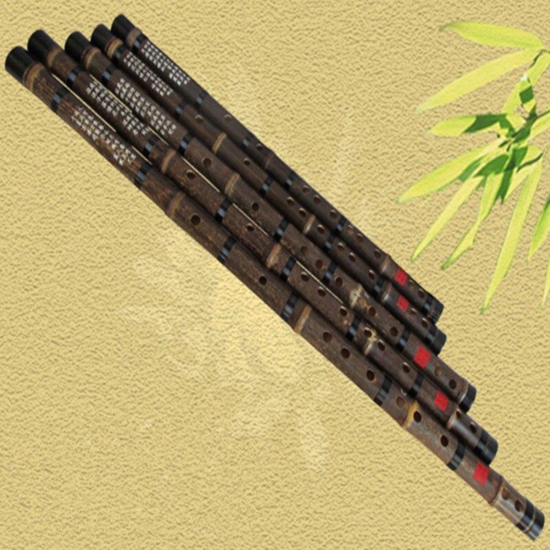 Çin bambuk fleyta musiqisi CDEFG düyməsini fleyta Flauta Bambu bir - Musiqi alətləri - Fotoqrafiya 6