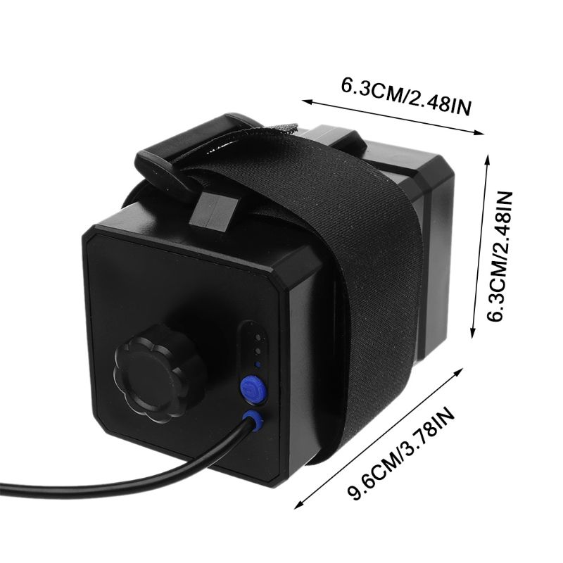 12V Waterproof Battery Case Box with USB Interface Support 3x 18650 26650 Battery DIY Power Bank