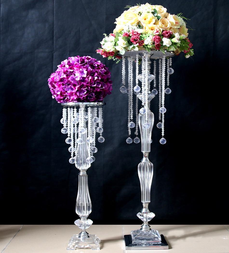 Party Decorations Table Centerpieces: 70cm Acrylic Crystal Wedding Centerpiece Event Decoration