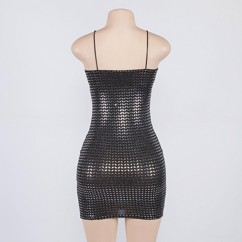 mini Sequin dress13