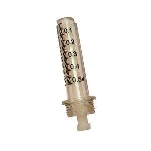 Image 5 - Nieuwe 0.5ML seal Disposible Spuit Tube + naald Hoofd Voor Hyaluron Pen Onnodig Verneveling Vernevelaar hyaluronzuur 50 stks/partij