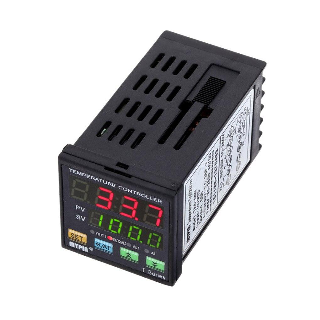 MYPIN TA4-SNR Temperature Controller Dual Digital F/C PID Thermostat SSR Control Output Alarm