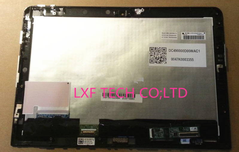 ФОТО  For Thinkpad 10 LCD Touch assembly B101UAN01.C full uper parts