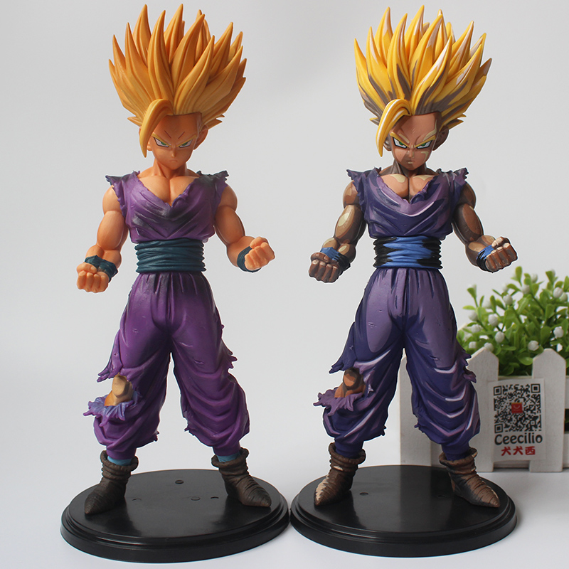 anime dragon ball z figurine son gohan pvc action figure comic color ver model 23cm in action. Black Bedroom Furniture Sets. Home Design Ideas