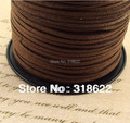 Wholesale! 90yards/roll 2.7mmx1.5mm Faux Suede Cord,Leather Cords,Wire,Line,Clothes Shoes Jewelry Making Findings Free Shipping