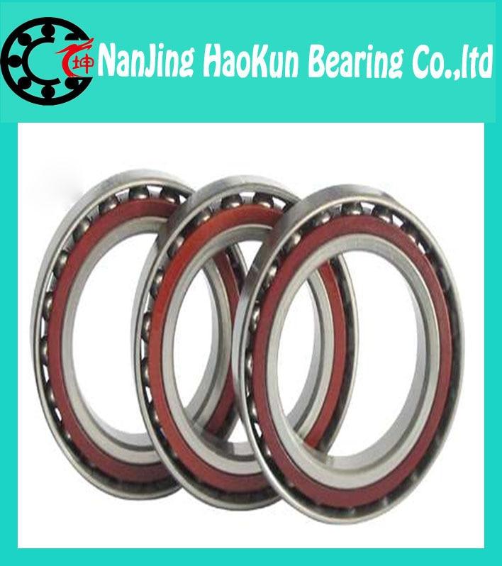 60mm diameter Angular contact ball bearings 7012 AC/P2 60mmX95mmX18mm,Contact angle 25,ABEC-9 Machine tool