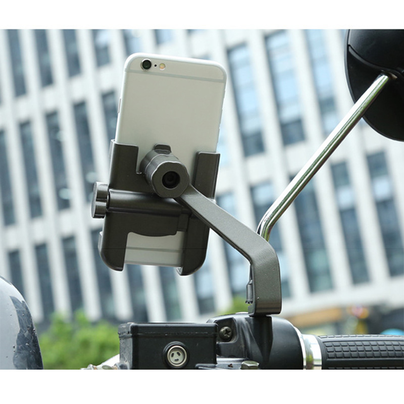 Motorcycle Phone Rack Adjustable Phones Holder Stand Motorcycle Accessories Fron