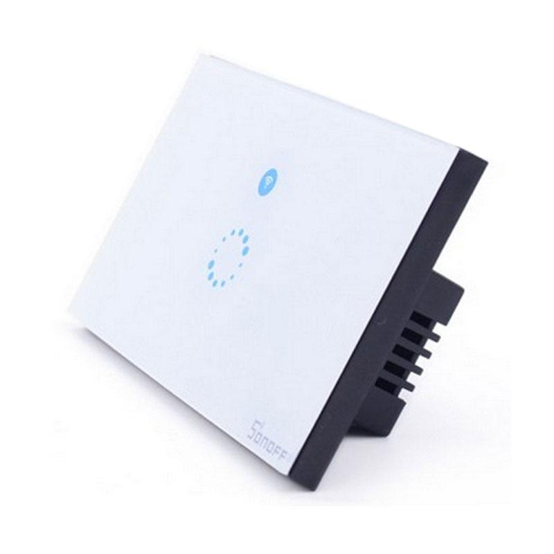 Itead Sonoff Touch EU US Smart Wifi-seina kerge puutetundlik lüliti - Nutikas elektroonika - Foto 4