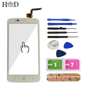 Image 5 - 100% Touch Screen Digitizer Glass Panel For ZTE Blade L2 plus L370 C370 L2Plus Front Touchscreen Adhesive+ Screen Protector Gift