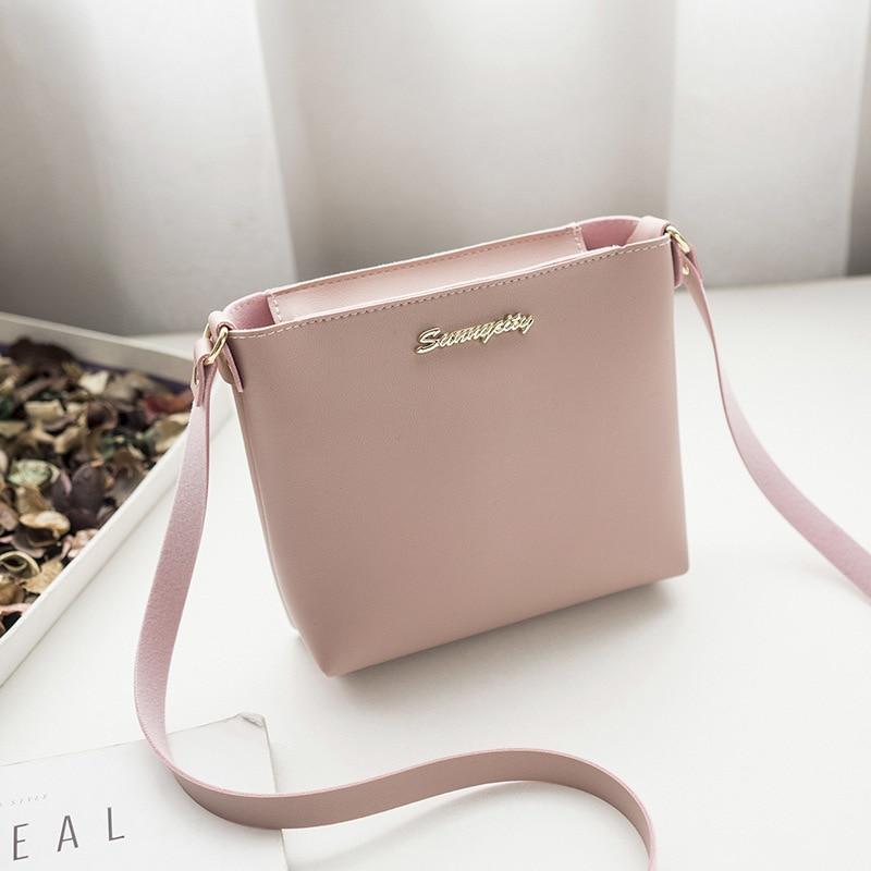 Hand bags Womens Leather Zipper Bag Casual Shoulder Bag Fashion Messenger Bag