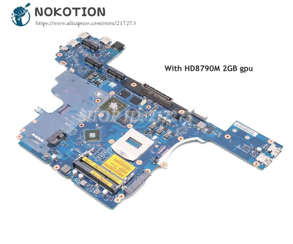 NOKOTION для Dell Latitude E6540 материнская плата для ноутбука CN-0VWNW8 0VWNW8 VALA0 LA-9411P HD8790M 2GB gpu