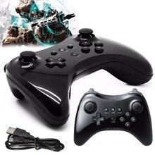 Voor Nintend wii WiiU Classic Dual Bluetooth Gamepad Draadloze Afstandsbediening Met USB Kabel U Pro Game Gaming Gamepad Upgrade