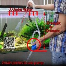 140cm Aquarium Fish Tank Manual Cleaner Tool
