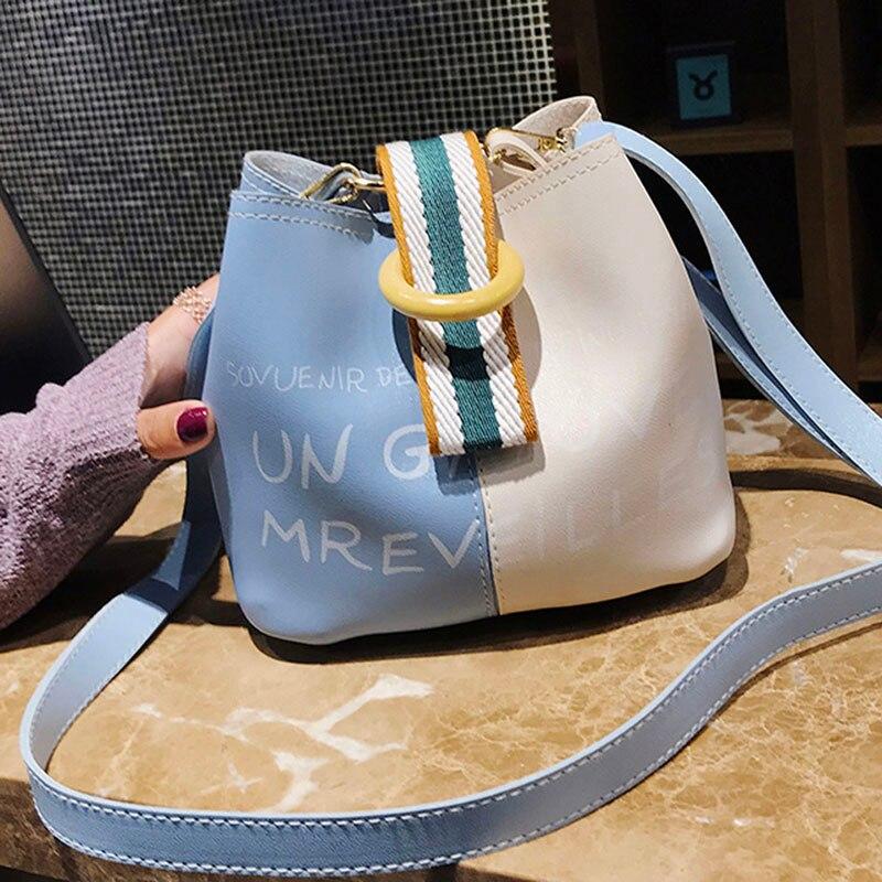 Women\'S Genuine Leather Bucket Bags Lady Handbags & Crossbody Bags For Women