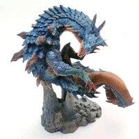 Capcom Monster Hunter World X Lagiacrus Model Collections Action Figure Anime Dragon Model Monsters PVC Models Gift