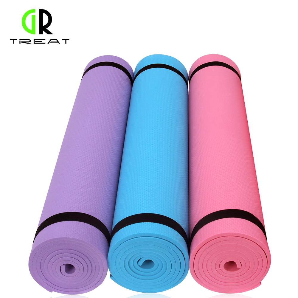Jogas paklājiņš neslīdošs jogas paklājiņš 6mm jogas spilvena - Fitnesa un kultūrisms