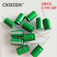 CNIKESIN Universal Capacitors Ultracapacitors 2.7V10F super capacitor 10F 2.7V low ESR fast charging small power back