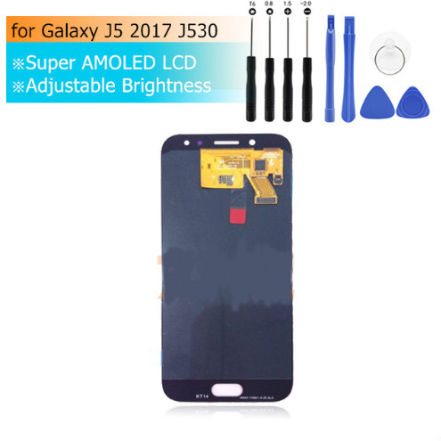 AMOLED For SAMSUNG GALAXY J5 2017  LCD Display Touch Screen Replacement Parts For SAMSUNG J530 J530F J530FN SM-J530F LCD 5.2AMOLED For SAMSUNG GALAXY J5 2017  LCD Display Touch Screen Replacement Parts For SAMSUNG J530 J530F J530FN SM-J530F LCD 5.2