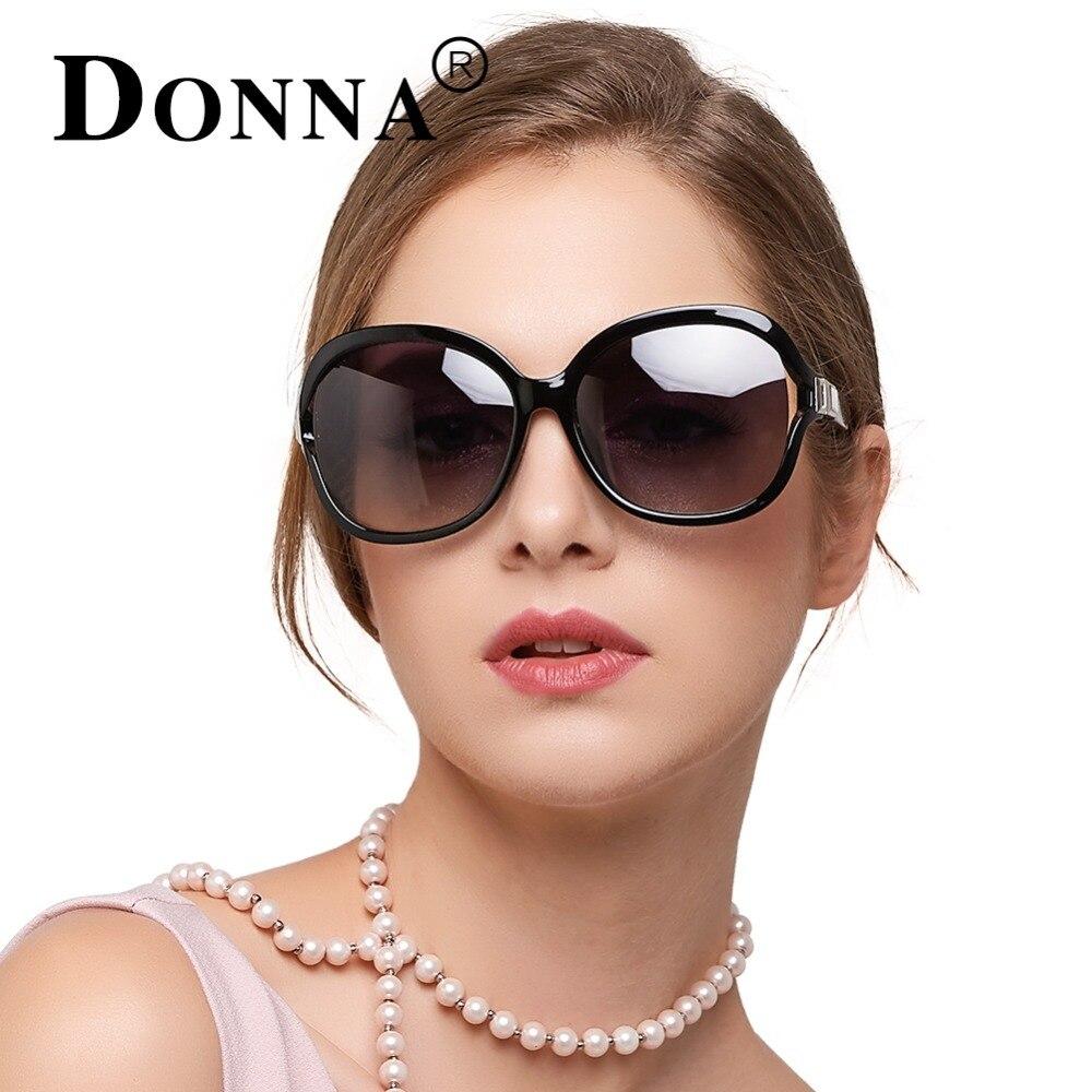DONNA Women font b Fashion b font Brand font b Polarized b font Sunglasses Designer Gradient