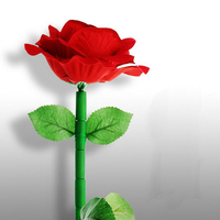Funny Gadgets Wooden Wilting Rose Magic Trick Novelty Gag Toy For Valentine S Day Gift For