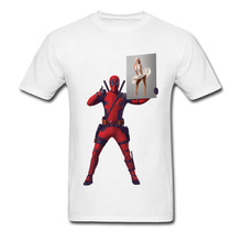 Mens Deadpool Tshirt Oversize Cool Tees Summer Fashion T-Shirts American Marvel Anime T Shirt Sex Marilyn Monroe Stamp