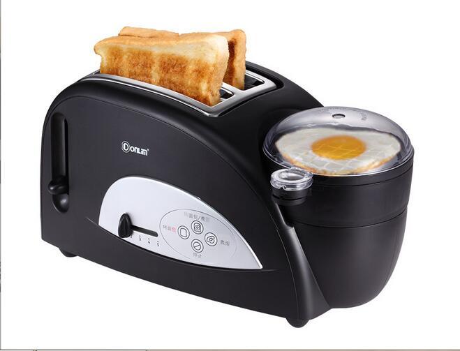 Chine guangdong Donlim XB-8002 petit déjeuner fabricant pain grille-pain frit oeuf cuiseur 110-220-240v petit déjeuner Machine