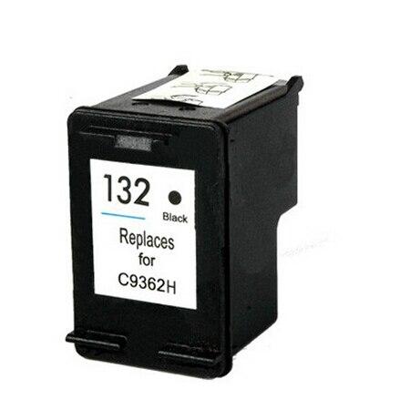 For HP 132 Cartridge For HP Deskjet 5443 D4163 5440 Photosmart 2573 C3183 D5163 1513 7800
