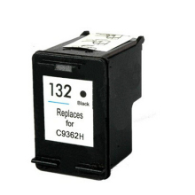 For HP 132 Cartridge For HP Deskjet 5443 D4163 5440  Photosmart 2573 C3183 D5163 1513 7800 PSC Officejet 6213 Printer