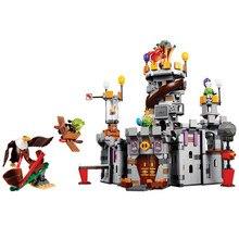 BELA Construção do Castelo do Rei Porco Aves Jogo Blocos Define Bricks Classic Legoings Amigos Crianças Modelo Brinquedos Para Crianças Compatíveis