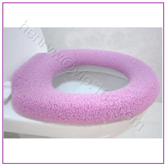 Retail O Shape Toilet Seat Cover, Many Colors For Choice, Thickness, Soft U0026  Warm, 5pcs Mix Color / Lot , Free Shipping L15633 In Toilet Seat Covers  From ...