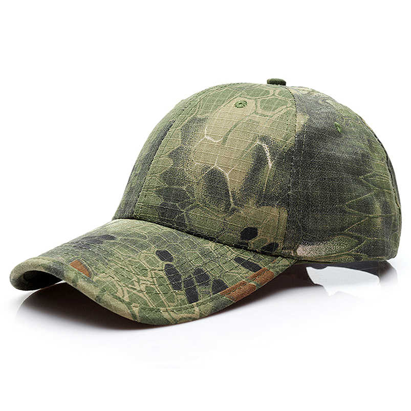Camouflage Baseball Cap Camo Army Military Forces Hunting New Combat Real Tree