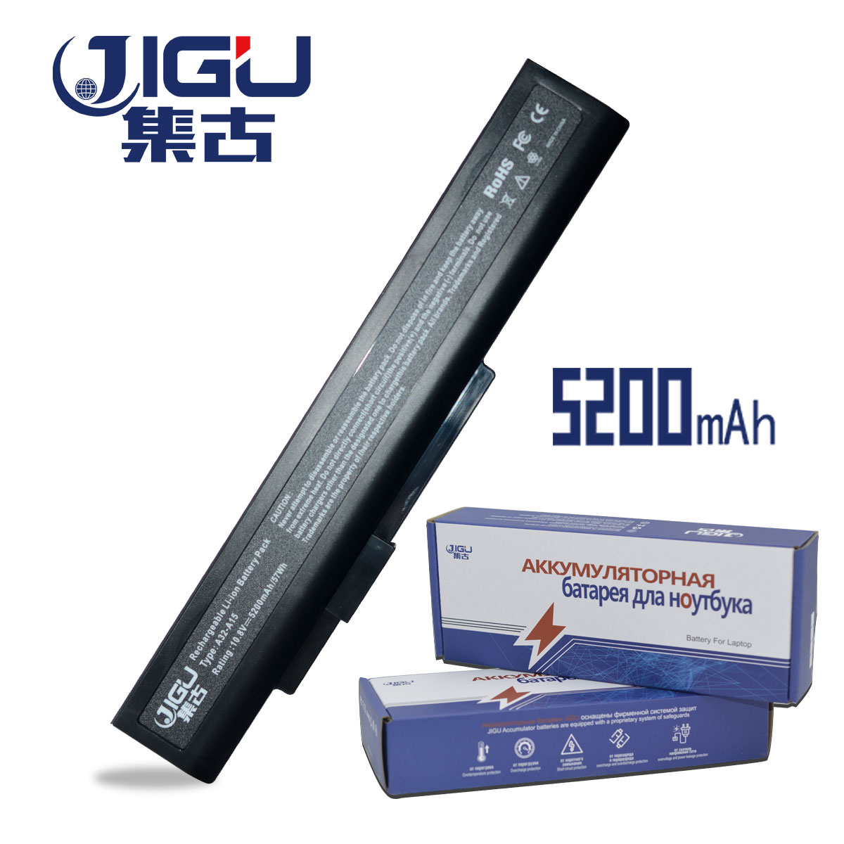 JIGU NEW Laptop Battery A32-A15 40036064 for msi A6400 CX640(MS-16Y1) CR640 Gigabyte Q2532N DNS 142750 153734 157296 new and original laptop baterry for dns 123871 gwbp05 921500013 11 25v 2800mah