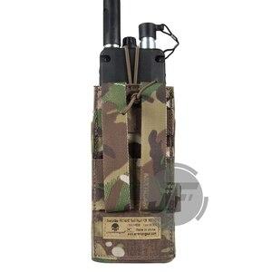 Image 3 - Emerson Tactical MOLLE MBITR PRC148 152 Radio Pouch EmersonGear Walkie Talkie Pocket w/Release Gesp voor Bevestigen RRV Vest