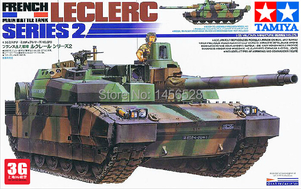 free shipping tamiya 35279 1 35 french leclerc main battle tank series 2 assembly model kits. Black Bedroom Furniture Sets. Home Design Ideas