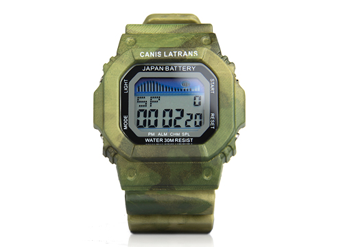 PPT AT-FG CP HL Color Tactical Digital Watch For Outdoor Hunting Paintball Accessory PP44-0001