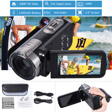 HDV-302P 3.0 Inch LCD Screen Full HD 1080P 24MP 16X