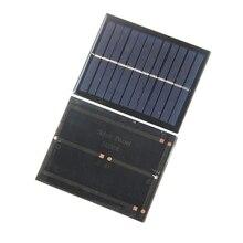 BUHESHUI Mini 1.5W 6V Solar Cell Polycrystalline Solar Panel Solar Module DIY Solar Charger 112*91mm 5pcs/lot Free Shipping