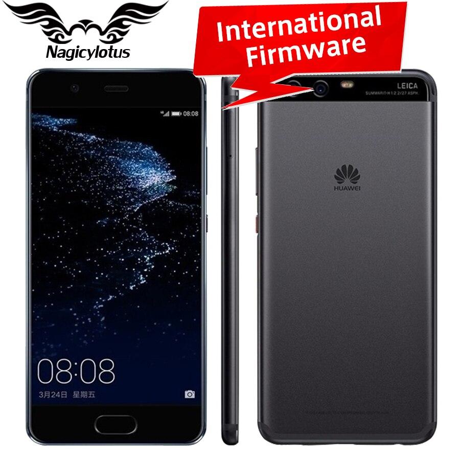 bilder für Original HuaWei P10 Plus 4G LTE Handy 5,5 zoll Kirin 960 6 GB RAM 64/128 GB ROM Android 7.0 2 Karat 2560x1440 20.0MP Fingerabdruck