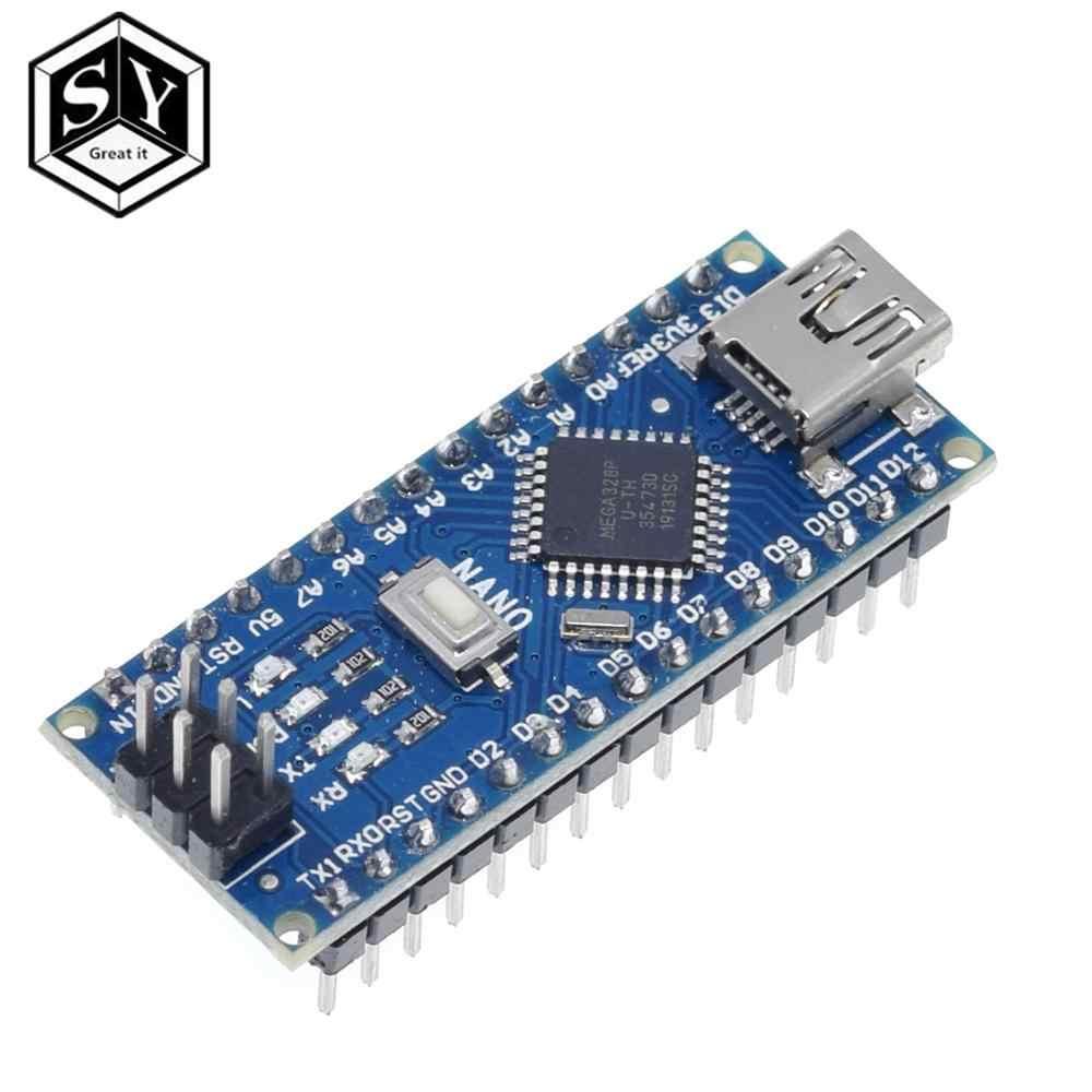 Nano 1 шт. мини USB с Загрузчиком Nano 3,0 контроллер совместимый для arduino CH340 USB драйвер 16 МГц NANO V3.0 Atmega328P