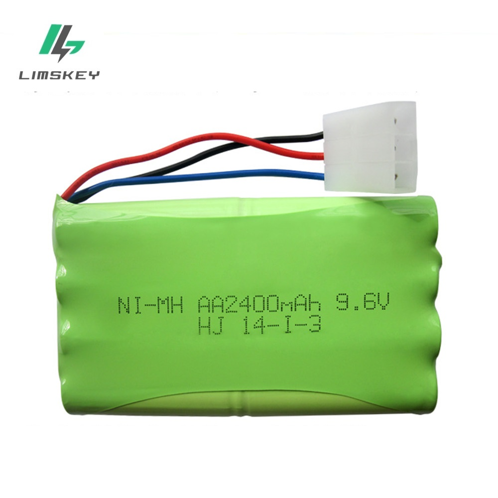 High quality 9 6V 2400mAh Remote Control Toys Electric toy security facilities electric toy AA 9