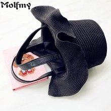 Fashion New Hat Straw Bucket Ladies Luxury Designer Beach Bags for Women  2018 Female Handbags Sac ba59c2ad8b42