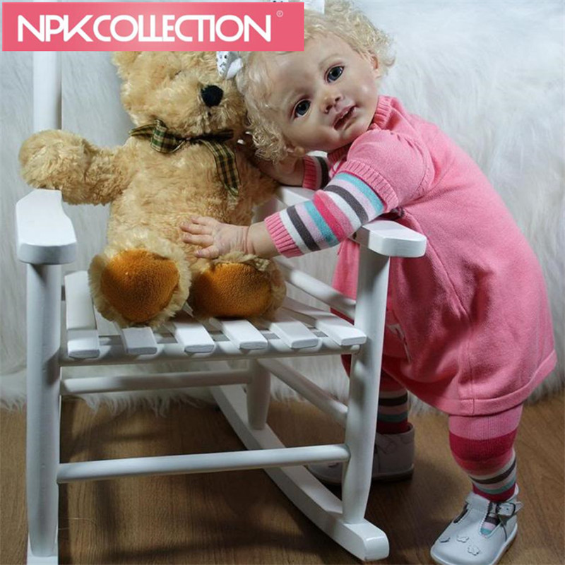 60 CM FRIDOLIN Reborn Dolls Kit Set Including Head, Arm, Leg Doll Kit DIY Blank Kit Safe Nontoxic doll