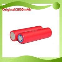 Бесплатная доставка! 2 шт./лот Оригинал Sanyo 3,6 В 18650 NCR18650GA 3500 мАч 10A литий-ионный аккумулятор