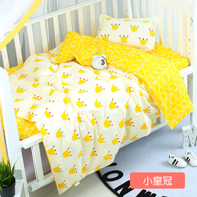 With Filling Crown Baby Boy Girl Cot Blanket Newborn Infant Cirb Bedding Accessories Nursery ,Duvet /Sheet/PillowWith Filling Crown Baby Boy Girl Cot Blanket Newborn Infant Cirb Bedding Accessories Nursery ,Duvet /Sheet/Pillow