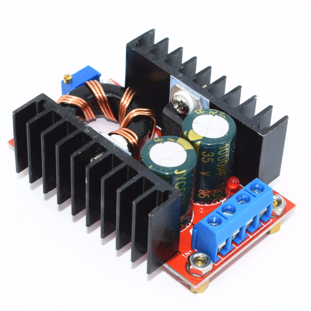 150w Boost Converter Dc To 10 32v 12 35v Step Up Voltage Capacitor Charger Module In Integrated Circuits From Electronic Components Supplies On